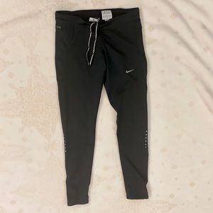 Nike Dry Fit Black Leggings, Size Small